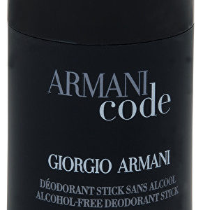 Armani Code For Men - tuhý deodorant 75 ml