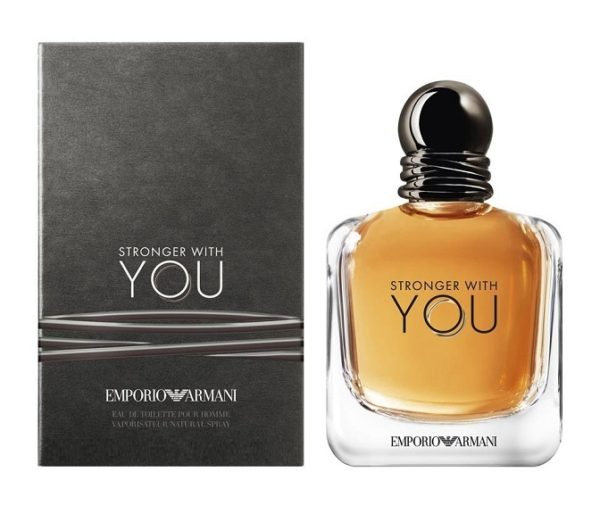 Armani Emporio Armani Stronger With You - EDT 1 ml - odstřik