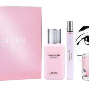 Calvin Klein Women - EDP 100 ml + tělové mléko 100 ml + EDP 10 ml
