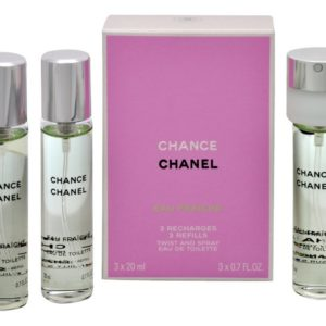 Chanel Chance Eau Tendre - EDT náplň (3 x 20 ml) 60 ml