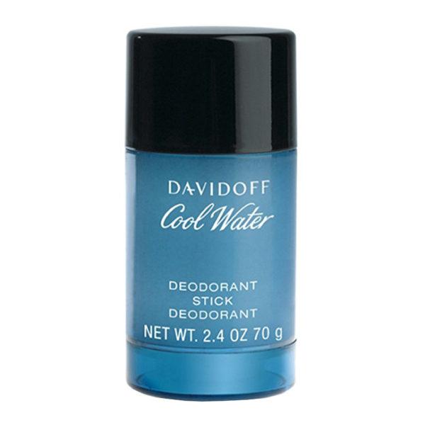 Davidoff Cool Water Man - tuhý deodorant 75 ml