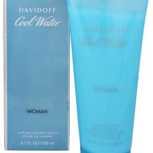 Davidoff Cool Water Woman - tělové mléko 150 ml
