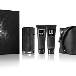 Dunhill Icon Elite - EDP 100 ml + sprchový gel 90 ml + balzám po holení 90 ml + kosmetická taška