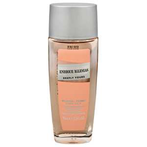 Enrique Iglesias Deeply Yours Woman - deodorant s rozprašovačem 75 ml