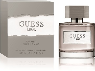 Guess Guess 1981 For Men - EDT 1 ml - odstřik
