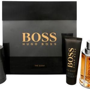 Hugo Boss Boss The Scent - EDT 100 ml + tuhý deodorant 75 ml + sprchový gel 50 ml