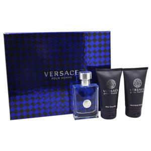 Versace Pour Homme - EDT 50 ml + sprchový gel 50 ml + balzám po holení 50 ml