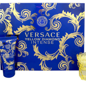 Versace Yellow Diamond Intense - EDP 50 ml + sprchový gel 50 ml + tělové mléko 50 ml