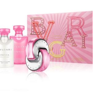 Bvlgari Omnia Pink Sapphire - EDT 40 ml + tělové mléko 40 ml + sprchový gel 40 ml