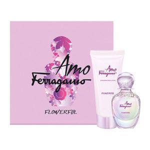 Salvatore Ferragamo Amo Ferragamo Flowerful - EDT 50 ml + tělové mléko 100 ml